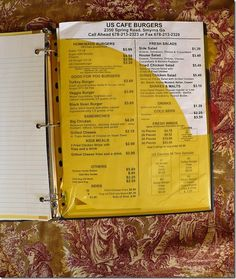 Step by step instructions on how to make a household notebook or home management binder