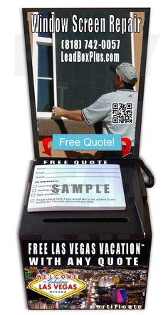 W Screen Repair Las Vegas Free, Lead Boxes, Las Vegas Vacation, Appliance Repair, Window Screens, Free Quotes, Best Wordpress Themes, Info, Lead Generation