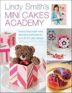 'Lindy Smith's Mini Cakes Academy' Book Published October 2014