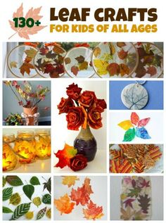 Bring the beauty of fall leaves indoors with fall leaf crafts for kids. We have…