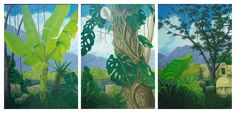 Jungle Triptych, Don Jacobs