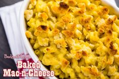 Budget101.com - - Baked Mac and Cheese II