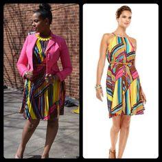#CalvinKlein Multicolor Sleeveless Pleat Dress (Size 8)     Original Price $128 - Your Price $75