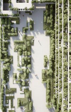 Magic Breeze Landscape Design by Penda