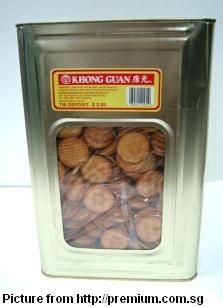 100 things in 80s (food) - khong guan biscuits