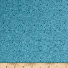 Tall Ships Ropes Blue from @fabricdotcom  Designed by Whistler Studios for Windham Fabrics, this cotton print fabric features classic sailor's knots to help you prepare for your next excursion! Perfect for quilting, apparel and home décor accents. Colors include shades of blue.