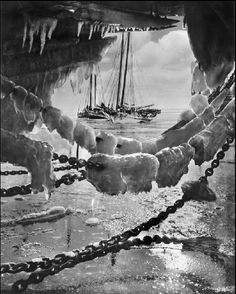 A. Aubrey Bodine   The Big Freeze   1936   http://www.luminous-lint.com