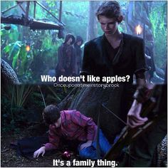 When your related to Snow White, it's a family thing