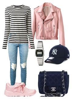 """""""Casual."""" by frenkiefashion on Polyvore featuring AMIRI, Puma, Casio, New Era, Proenza Schouler and Chanel"""