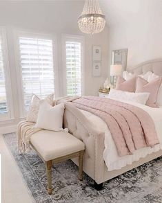 Modern and Small Bedroom Interior Design Ideas ! Part bedroom ideas; bedroom ideas for small room; Dream Rooms, Dream Bedroom, Home Decor Bedroom, Modern Bedroom, Contemporary Bedroom, Blush Bedroom Decor, Mirrored Bedroom, Narrow Bedroom, Bedroom Interiors