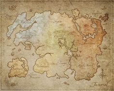 The Elder Scrolls Online: Imperial Edition Premium Physical Map Of Tamriel in Video Games & Consoles, Gaming Merchandise | eBay