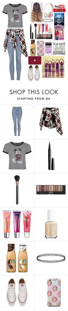 """""""When You Have Squad! *You*_ What's Up? *Jerrie aka me*__The clouds!"""" by xxjerriexx ❤ liked on Polyvore featuring Topshop, Marc Jacobs, MAC Cosmetics, Maybelline, Essie, Converse, NoWordsForBestFriendsGoals, JerrieLovesClouds, djonedirectionispunkrock and TureBestFriendsGoals"""
