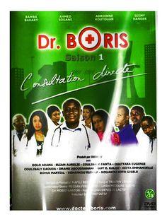 """Dr Boris Saison 1 """"Consultation directe"""" est une série originale et divertissante qui dépeint les tares de la société Africaine. Traversé d'un puissant souffle d'humour et de gaieté, Dr Boris jeune medecin exerçant dans une clinique à Abidjan mène une vie trépidante . C'est donc sur un ton direct sans langue de bois, audacieux mais jamais vulgaire que notre téléfilm décrit son univers, sa famille, ses amis et ses patients,"""