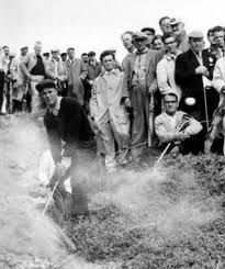 arnold palmer----Arnie and His Army....Bringing Golf To The Lives Of The Masses....The True Master!!