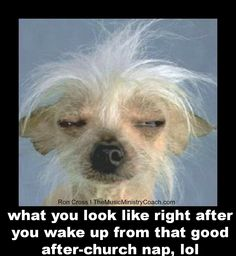 Or that u was dog tired going to bed and slept that good all night.