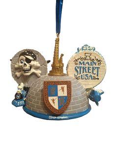 Disney Ear Hat Ornament - Main Street USA - Magic Kingdom