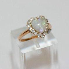 Heart ring...