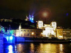 La fête de lumiere, Lyon - Francia - Colina de Fourvière  http://aristofennes.com/lyon-la-verdadera-ciudad-luz/