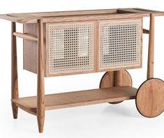 Detailed Furniture designs that put your IKEA furniture to shame! | Yanko Design Classic Furniture, Modern Furniture, Furniture Design, Ikea Furniture, Furniture Making, Oak Wardrobe, Joinery Details, Yanko Design, Showcase Design