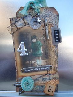 the doghouse: tim holtz - 12 tags of 2012 - june