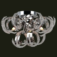 Found it at Wayfair - Medusa 9-Light Flush Mount
