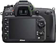 Nikon diopter