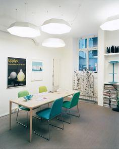 Furniture designer Monica Förster's studio in Stockholm, Sweden. Photo by: Felix Odell