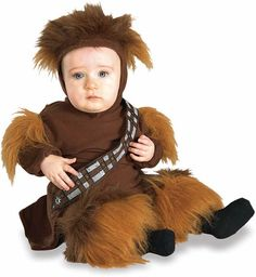 Julianna will love it if we dress her baby brother like Chewbacca!