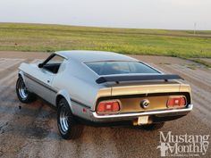 1971 429 Mach 1 Boss 351