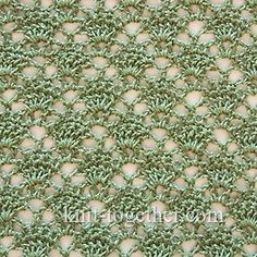 Lacy Crochet Stitch Pattern 1