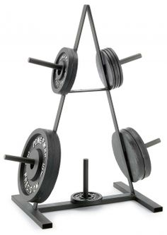 Plate Rack for his home gym. Bday present?