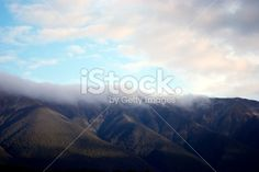 Morning Mist on the St Arnaud Ranges, New Zealand Royalty Free Stock Photo