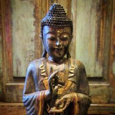 Painted Buddha 14x40x10 $995