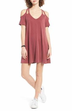 Socialite Sofia Cold Shoulder Dress