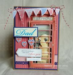 Forever Friends Best of British Father's Day Card Forever Friends Cards, Best Of British, Card Ideas, Gift Ideas, Craft Cards, Fathers Day Cards, Crafts To Do, Bunting, Holiday Crafts