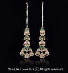 Indian Jewellery Design, Antique Jewellery, Indian Jewelry, Jewelry Design Earrings, Designer Earrings, Diamond Earrings, Diamond Jhumkas, Diamond Jewelry, Shoulder Jewelry
