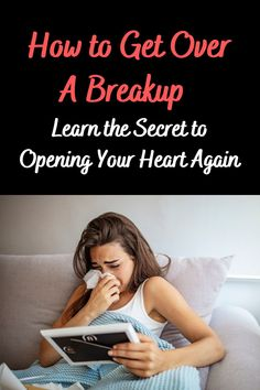 Would you get into a relationship if you knew it wasn't going to last? Learn how to get over a breakup.