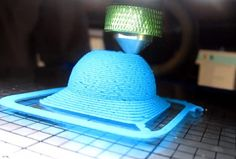 Hyrel 3D Printer Can Print Using Play-doh, Air-drying Clay And Sugru