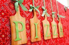 Decoracion cocinerito Italian Party Decorations, Pizzeria Design, Italian Themed Parties, Pizza Party Birthday, Local Pizza, Chef Party, Pizza Cake, Girl Birthday Themes, 50th Birthday