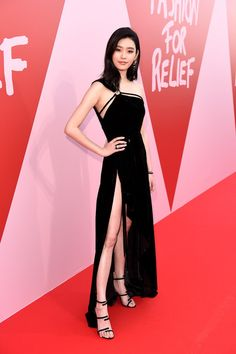 Ming Xi attends the Fashion for Relief event during the 70th annual Cannes Film Festival at Aeroport Cannes Mandelieu on May 21, 2017 in Cannes, France.