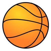 Free Basketball Cut Out Large size printable Basketball