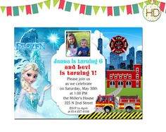 81 best joint birthday invitation split invitations twin