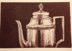 Drypoint and aquatint