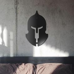 Deccort | Helmet Metal Tablo Helmet, Wall Lights, Metal, Home Decor, Homemade Home Decor, Appliques, Motorcycle Helmet, Metals, Interior Design