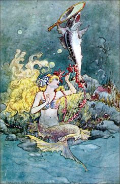 Art by Charles Folkard (1920) from BRITISH FAIRY AND FOLK TALES.