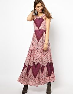 Image 1 ofFree People You Made My Day Printed Maxi Dress