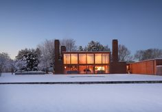 Korman House. 1971. Fort Washington, PA. Louis Kahn.