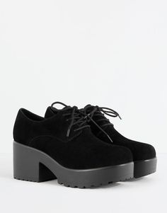 Heeled bluchers - See all - Shoes - Woman - PULL&BEAR France