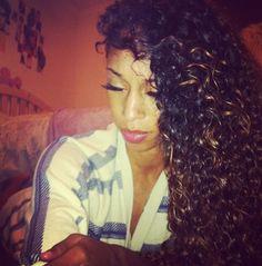 Curls....highlights