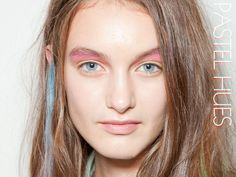 Spring 2013 Beauty Breakdown: The Top Trends of the Season & How to Get Them Runway Makeup, Beauty Routines, Warm Weather, Color Pop, Seasons, Spring, Trends, Tops, Seasons Of The Year